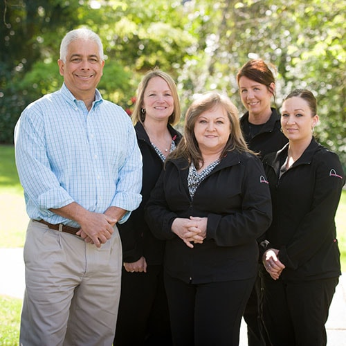 Dr. Jeff Schur and his team outside who offer Invisalign Teen in Bellevue WA