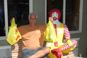 Community support of Ronald McDonald House