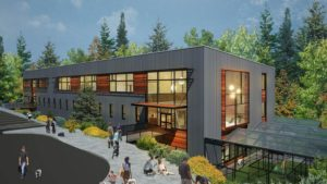 Newly build Seattle Humane Society building