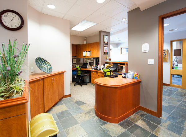 The office of Dr. Schur of Schur Orthodontics in the Redmond area.