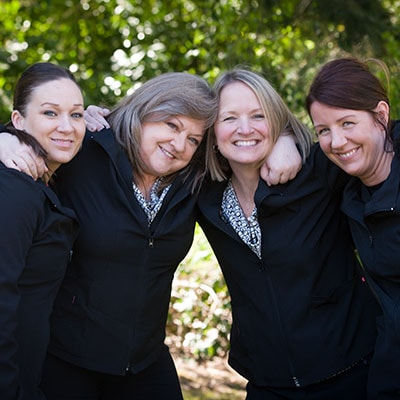 The amazing dental team at Schur Orthodontics.